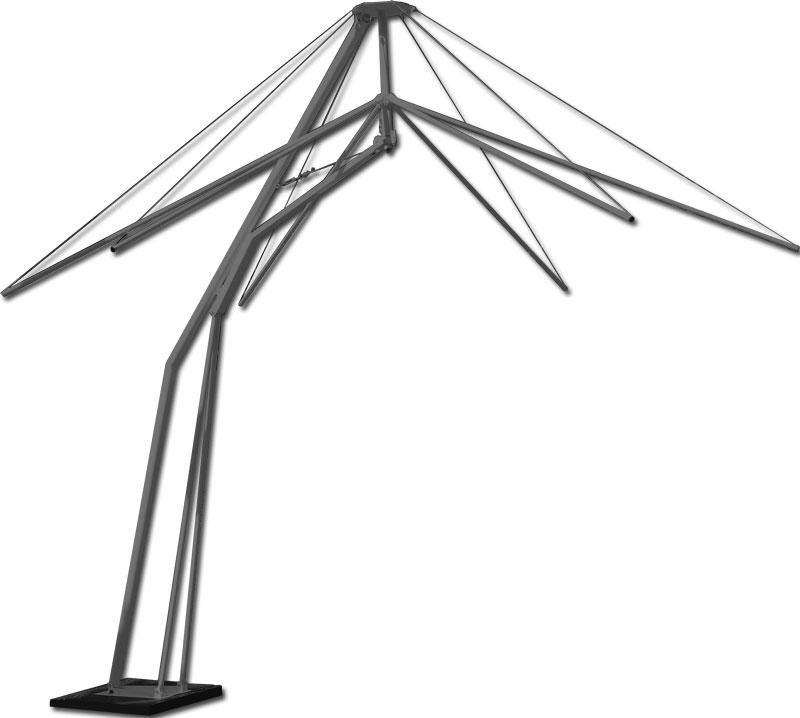каркас зонта-трансформера